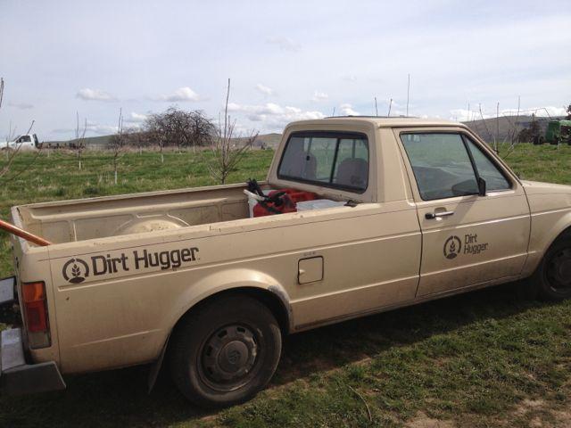 Dirt Hugger field work.