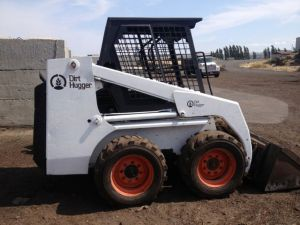Custom paint job for the skid steer.