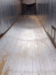 Our hauling partner, Kiwi Construction, bought a walking floor trailer. We can now deliver +/- 50 yds at a time.