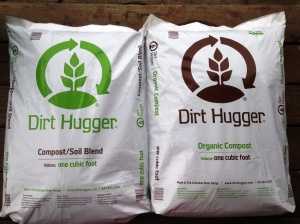 New Dirt Hugger 1cu. ft. bags of compost and blend