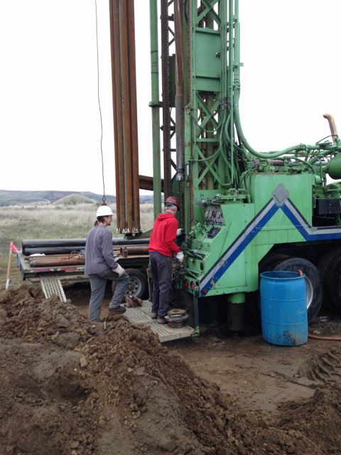 new site - well drilling